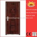 الصين ذات جودة عالية تصميم جديد sc-s048 ألوان الطلاء الباب الخارجي