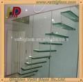 Outdoor-glas balkongeländer mit gehärtetem glas, moderne Balkon glasgeländer, klar gehärtetem glasgeländer für die Treppe