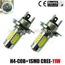 manufactory bright white h4 7.5w high lumen car h4 led headlight bulbs