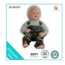 safety american dolls/soft plush baby doll toy/life size plush doll