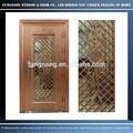 Guangzhou puerta de la fábrica ofrece lo mejor de la puerta de hierro de los precios, de acero inoxidable personalizados diseño de la puerta según el dibujo