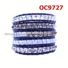 V8arts alibaba com colorful beaded leather wrap bracelets wood bead and leather braceletsleather bracelets diy letters