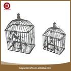 Decorative wrought iron pet product bird cage