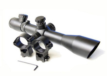 M4 4-12x40 Hunting scope R&G Illuminated Mil-dot Optics Hunting side focus Rifle Scope from POERY