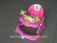 Oem bambino camminatore/china wholesale bambino passeggino/8 eva ruote girello con musiche