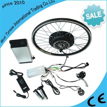High Torque 48V 1000W brushless gearless motor ebike conversion kits/electric bike battery included for electric bicycle kit