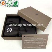 Spot color elegant hot stamping custom cosmetic gift box