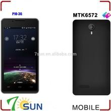 "4.5"" P10 MTK6572 Dual core Android 4.2 WIFI GPS 3G Mobile phone Smartphone bulk smart phone"