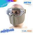 venda quente cara metade paintball meia máscara facial máscara de airsoft wargame máscara de uso