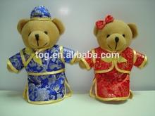 Novo Design do chinês traje do ano novo urso de brinquedo de pelúcia