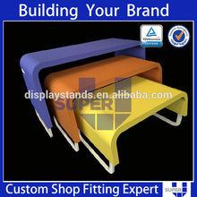 OEM ODM retail store wood MDF quilt display cabinet