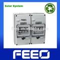 ip66 al aire libre eléctrica pv sistema 8 camino de protección uv de distribución recintos