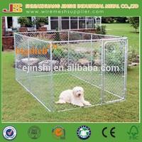 7.5'X7.5'X6' Australian standard Large outdoor galvanised chain link dog kennels & dog cage & dog runs