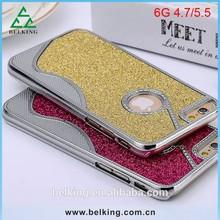 Luxury Fashion Glitter Bling Shining Hard Back Case For Iphone 6