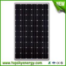 High efficiency 250W-270W monocrystalline solar panel for solar system