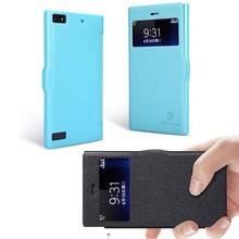Nillkin Fresh PU Leather Thin Flip Window Wallet Case for BlackBerry Z3