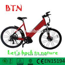BTN electric mountain racing bike in korea