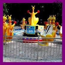 China Black Lion Children Game Amusement Rides Kangaroo Jump for Sale