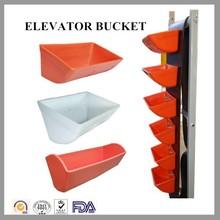 grain elevators, parts for vertical conveying, material handling parts bucket