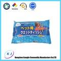 Oem-marke antibakterielle feuchten tuch japanische feuchttücher