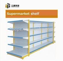 4-way perforated supermarket metal gondola