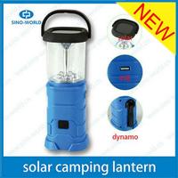 Multi Solar power camping lantern light Portable USB Hand crank Dynamo Rechargeable South Africa solar security light