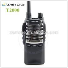 16 Channels UHF Walkie-talkie Two Way Radio Zastone T2000 400-470MHz Portable Radio With 2100mAh Battery