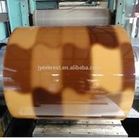 Printech Terra pattern prepainted steel coil for Asphalt Shingles Roof