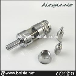 Tank system airflow adjustable bac atomizer airspinner