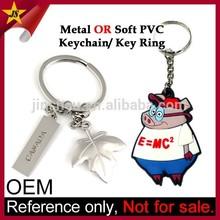 Metal Keyring or Rubber Key Chain Supplier Cheap Custom Keychain Maker