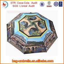 Rain Umbrella 21inchx8k Three Fold Auto Open Auto Close Indian Sex Picture Umbrella