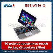 OEM quad core windows 8.1 plastic case wholesale 11.6 inch tablet
