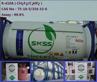 99.9% purity R410a Refrigerant Gas price