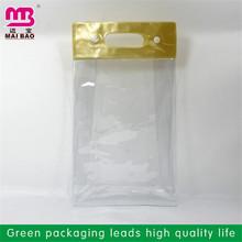 fully display logo pvc knitting bags packaging