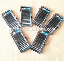 Korea Wholesale the most popular private label eyelash extension false eyelash custom packing is accept