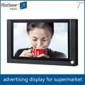 "Flintstone 7"" digital lcd de pequeno sinal, pequenas da propaganda do lcd monitor de 7 polegadas indoor pequeno monitor de vídeo lcd exposição do produto"