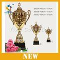 Baloncesto de metal trofeos, Artesanías indonesia metal copa de europa del trofeo