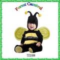 tz32498 moda popular bebê criança trajes trajes da abelha com asas