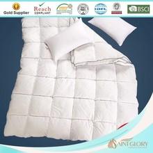 custom white micofiber filling polyester quilt