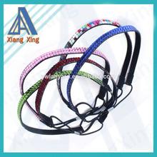 Rhinestone Crystal Stretch Headband 4-Row Head Piece Elastic Hair Band for Women