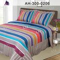 De gran tamaño singular rey pintado a mano diseño de la india ropa de cama de cama colchas/cubrecamas cubre