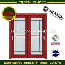 sliding glass wooden door