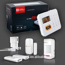 2015Hot sale security products gsm burglar alarm system , gsm security wireless smart security alarm