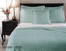 Light Blue Turkish Cotton Embroidered Bed Sheet Set