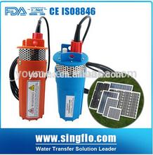 Singflo 360 LPH 24v solare pompa/profondo foro e pompa acqua sommergibile/sommergibile solare e pompa acqua