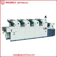 WG456LII 4 Color Usage New Condition Offset Printer Hamada
