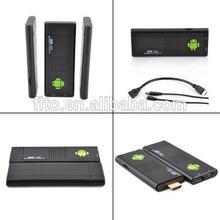 Android Rockchip rk3188 quad core Smart TV Stick support wireless wifi,DLNA,Airplay,mini tv stick