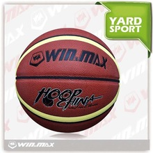 Winmax high quality cheap official size 7 size 5 size 3 rubber pu basketball balls