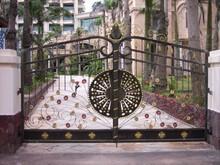 Beautiful Residential Wrought Iron Gate Designs/Models/Wrought Iron Main Gates /Metal Iron Gate
