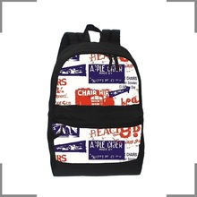 2014 KOSTON branding Fashion printed designs leisure backpack KB108
